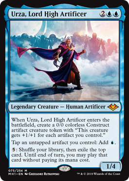 Urza, Lord High Artificer
